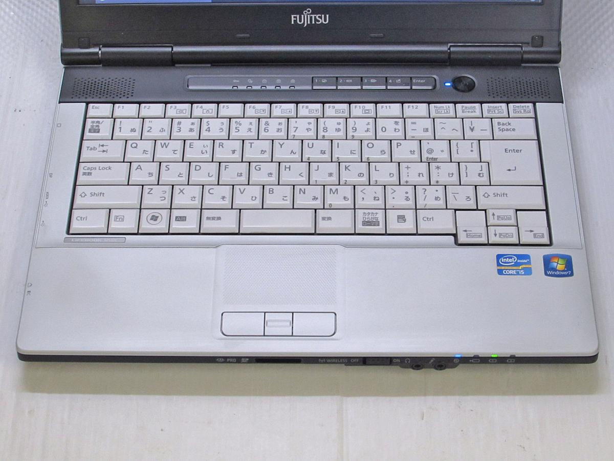 FUJITSU LIFEBOOK S751/C