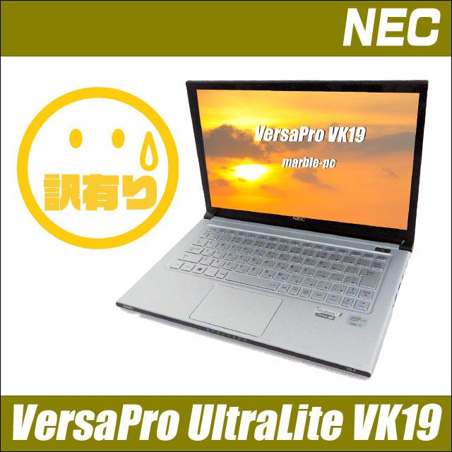 NEC VersaPro UltraLite タイプVG VK19SG-F