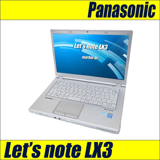 Panasonic Let's note LX3 CF-LX3EDHCS