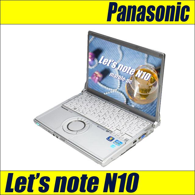 Panasonic Let's note N10 CF-N10CWHDS